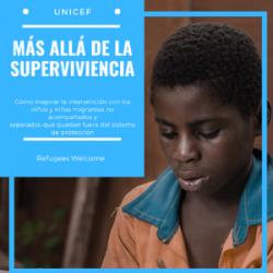 Análisis del último informe de UNICEF sobre la intervención en Europa con menores no acompañados que quedan fuera del sistema de protección